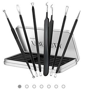 6 piece blackhead and blemish removal kit